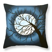The Sleeping Throw Pillow by Angela Hansen