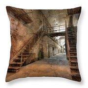 The Sound Of Silence Throw Pillow by Lori Deiter