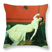 The Studio Throw Pillow by Sophie Anderson