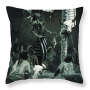 The Sundance Throw Pillow by Frederic Remington