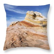 The Swirl Throw Pillow by Chad Dutson