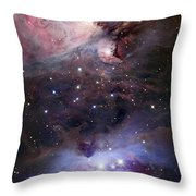 The Sword Of Orion Throw Pillow by Robert Gendler