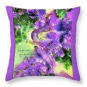 The Vine Throw Pillow by Anne Duke