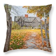 The Whipple House Throw Pillow by Susan Cole Kelly