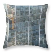The Whole World Inside This Glass Throw Pillow by Robert Margetts