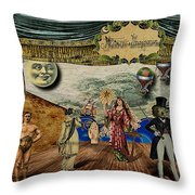 Theatrum Imaginarius -Theatre of the Imaginary Throw Pillow by Cinema Photography