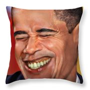 They called me Mr. President 1 Throw Pillow by Reggie Duffie