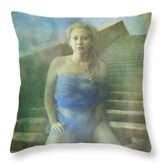 This Is My Heart Throw Pillow by Laurie Search