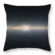 This Panoramic View Encompasses Throw Pillow by Stocktrek Images