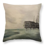 Thistle Alpha-north Sea Throw Pillow by Douglas Ann Slusher
