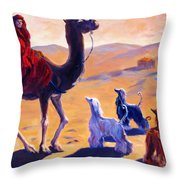 Three Wise Men Throw Pillow by Terry  Chacon