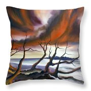 Tideland Throw Pillow by James Christopher Hill