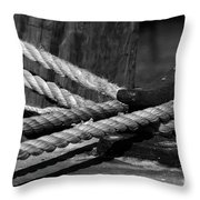 Tied down Throw Pillow by Susanne Van Hulst