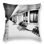 Titanic: Promenade Deck Throw Pillow by Granger