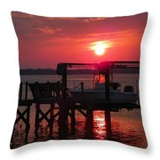 Toy On Hold Throw Pillow by Karen Wiles