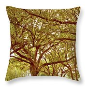 Tranquility Throw Pillow by Adele Moscaritolo