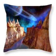 Transcendent Throw Pillow by Corey Ford