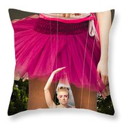 Travel Down Your Own Road And Dance To Your Own Beat Throw Pillow by Jorgo Photography - Wall Art Gallery