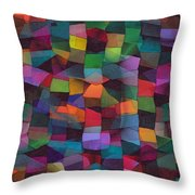 Treasures Throw Pillow by Susan  Epps Oliver