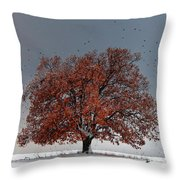 Tree Of Life Throw Pillow by Evgeni Dinev