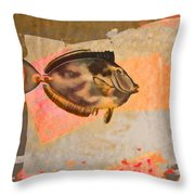 Tropical Dream Number 1 Throw Pillow by Carol Leigh