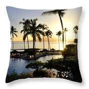 Tropical Dream Throw Pillow by Rosy Kueng