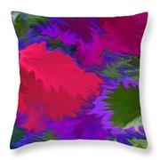 Tropicana Throw Pillow by Patricia Griffin Brett