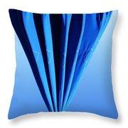 True Blue Too Throw Pillow by Anna Villarreal Garbis