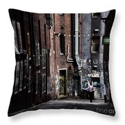 Tryst Throw Pillow by Andrew Paranavitana