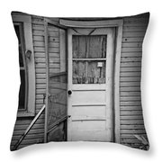 Tuff Times 2 Throw Pillow by Perry Webster