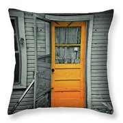 Tuff Times Throw Pillow by Perry Webster