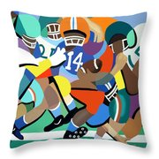Two Minute Warning Throw Pillow by Anthony Falbo