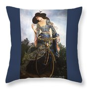 Unstuck In Time Throw Pillow by Jane Whiting Chrzanoska