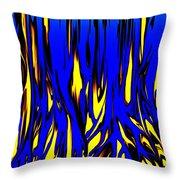 Untitled 7-21-09 Throw Pillow by David Lane