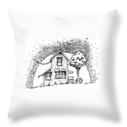 Untitled Throw Pillow by Tobey Anderson