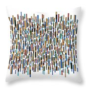Urban Abstract Throw Pillow by Frank Tschakert