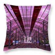 Urban Express Throw Pillow by Evelina Kremsdorf