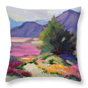 Verbena 2 Throw Pillow by Diane McClary