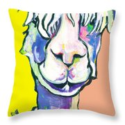 Veronica Throw Pillow by Pat Saunders-White