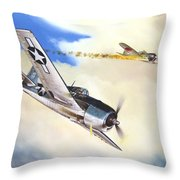 Victory For Vraciu Throw Pillow by Marc Stewart
