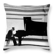 Vladimir Horowitz Throw Pillow by Granger
