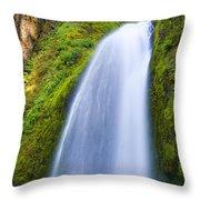 Wahkeena Throw Pillow by Mike  Dawson