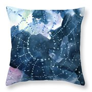 Waiting for a catch Throw Pillow by Anil Nene