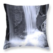 Washed Out  Throw Pillow by Cathy  Beharriell
