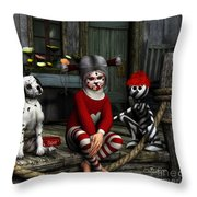 We Are Family Throw Pillow by Jutta Maria Pusl