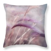Whispers In The Wind Throw Pillow by Priska Wettstein