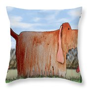 Wilbur Throw Pillow by Arline Wagner