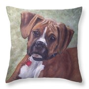 Windsor Throw Pillow by Elizabeth  Ellis