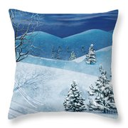 Winter Solstice Throw Pillow by Bedros Awak
