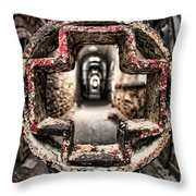 Without Salvation Throw Pillow by Andrew Paranavitana